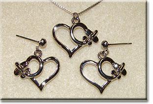 Heart Small Silver Tone