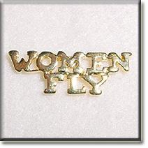 Women Fly Gold Tone