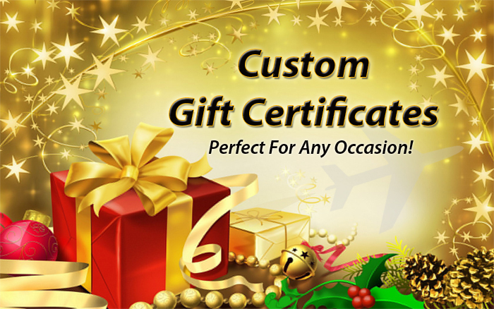 Custom Gift Certificate Perfect for Any Occasion