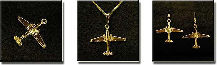 DC-3 : 14K Gold