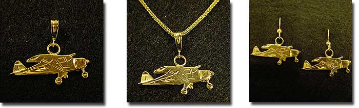 Tri-Pacer : 14K Gold