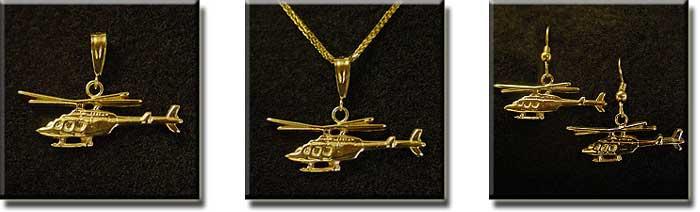 Bell 407 : 14K Gold