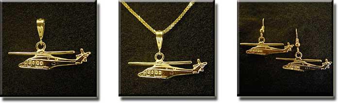 Agusta 139 : 14K Gold