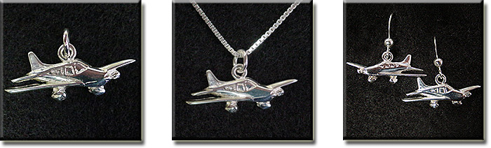 Piper Warrior II, Dakota, and Archer II : 14K Gold