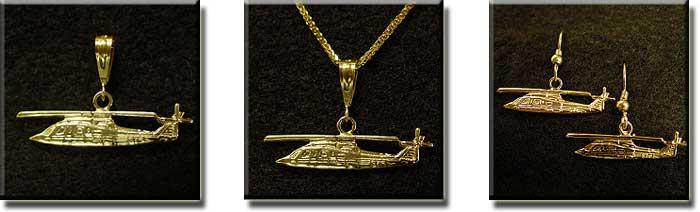 SIKORSKY S-76 : 14K Gold