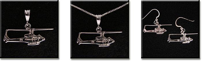 UH-1 205 Iroquise : 14K Gold