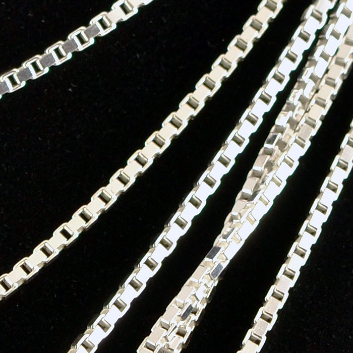 Large Sterling Silver Chains