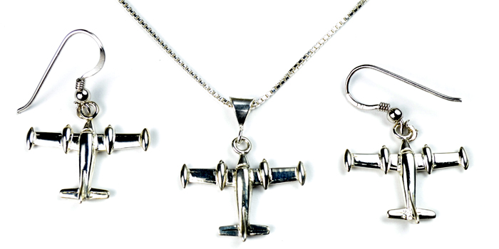 Cessna 310 : Sterling Silver