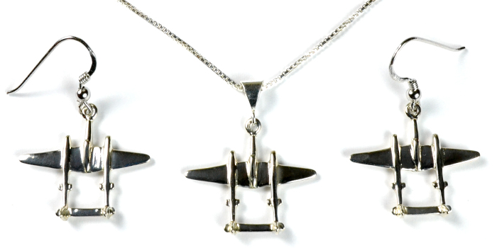 P-38 : Sterling Silver