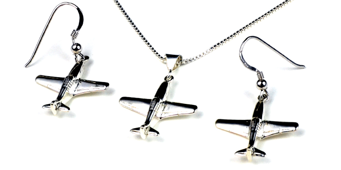 P-40 : Sterling Silver