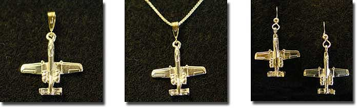 A-10 3D : Sterling Silver