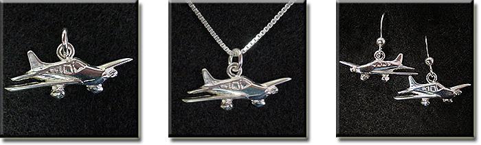 Piper Warrior II, Dakota, and Archer II : Sterling Silver