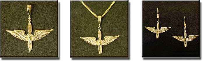 ARMY Air CORPS : Sterling Silver