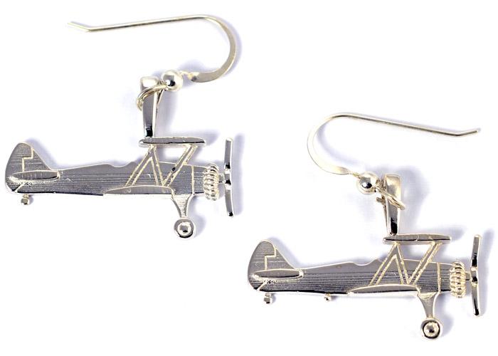 Stearman Medium : Sterling Silver