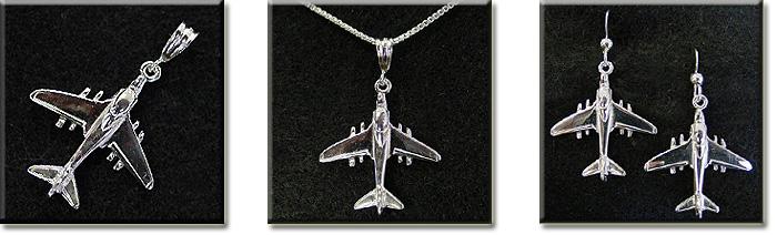 A-6 Grumman Intruder : Sterling Silver