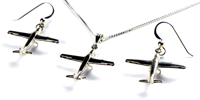 Cessna 208 : Sterling Silver