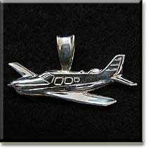 Piper Saratoga (LARGE) : Sterling Silver