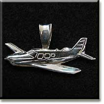 Piper Arrow (LARGE) : Sterling Silver