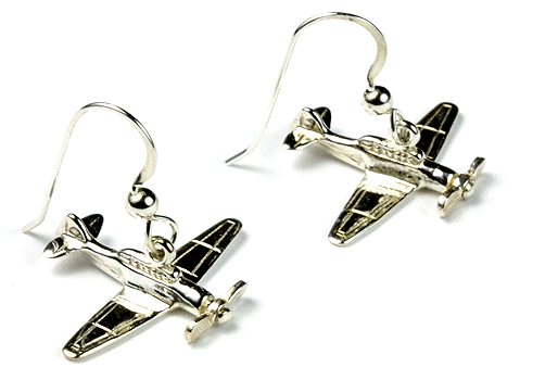 T-6 Spinning Prop : Sterling Silver