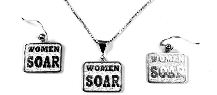 Women Soar : Sterling Silver