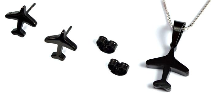 Airplane Mini Black