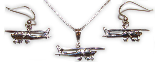 Cessna 150-152 : Sterling Silver